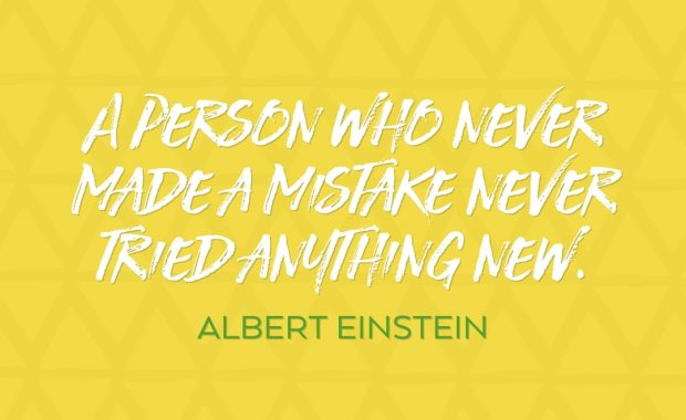 Albert Einstein Something New Quote