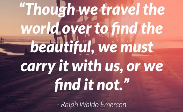 Ralph Waldo Emerson Quote About Beauty