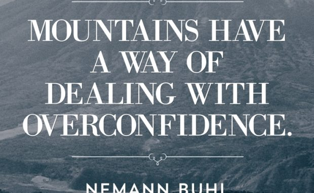 Nemann Buhl Mountains Quote