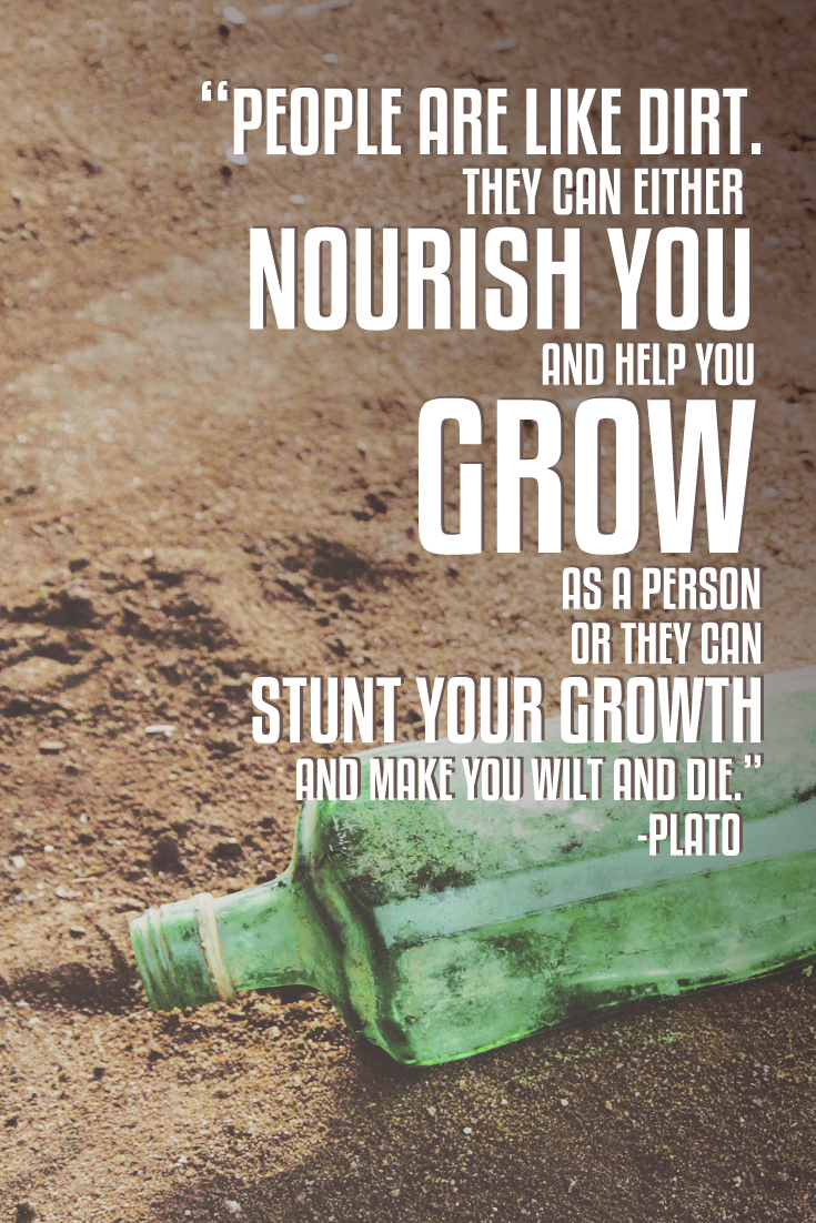 plato people are like dirt quote