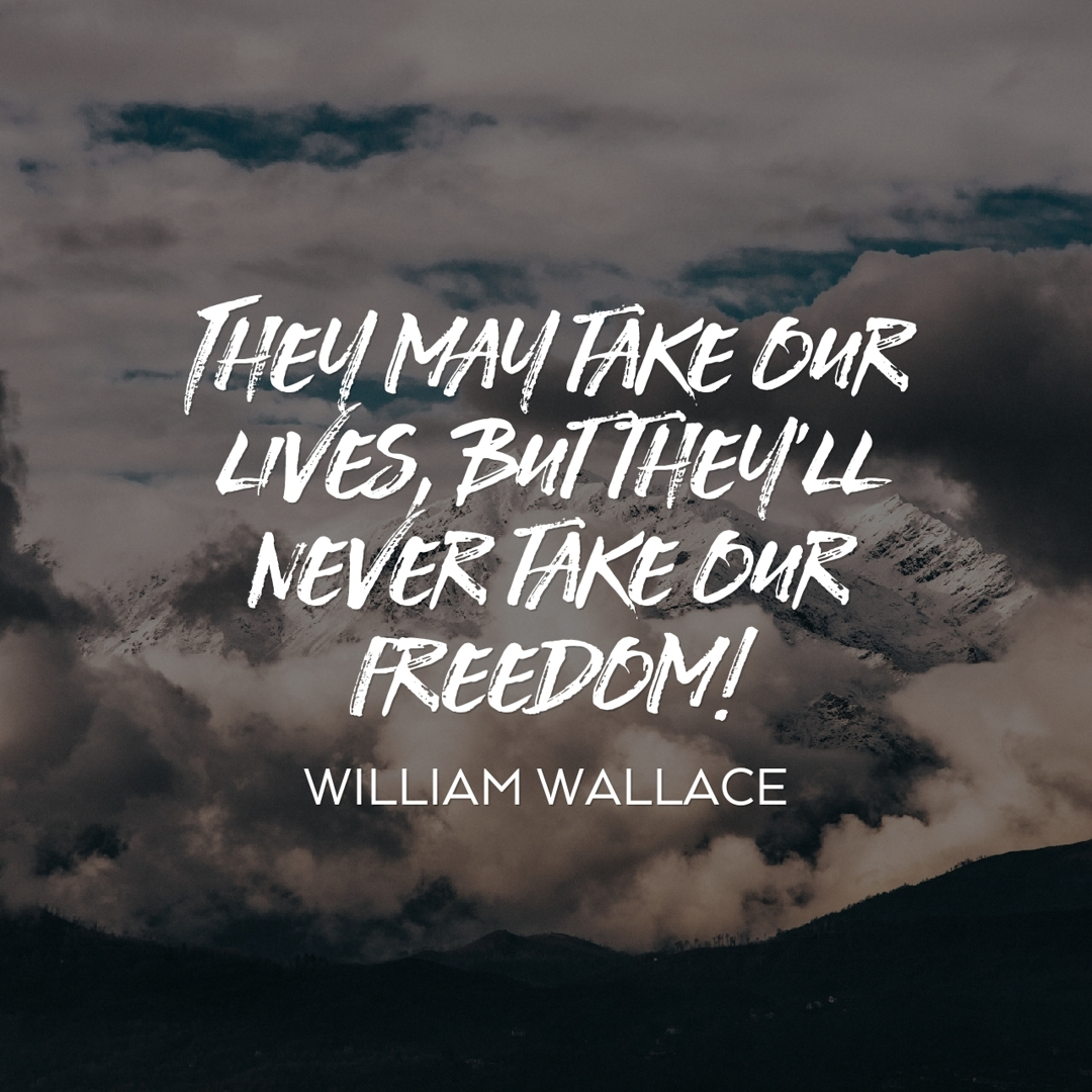 william wallace freedom quote