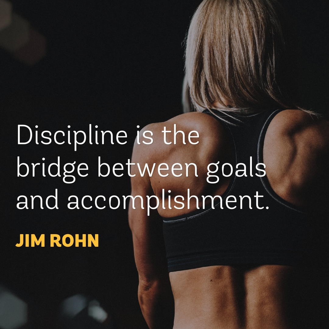 Jim Rohn on Discipline Quote