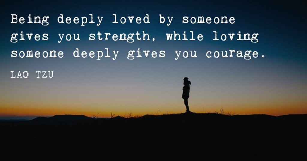 Lao Tzu on Loving and Being Loved