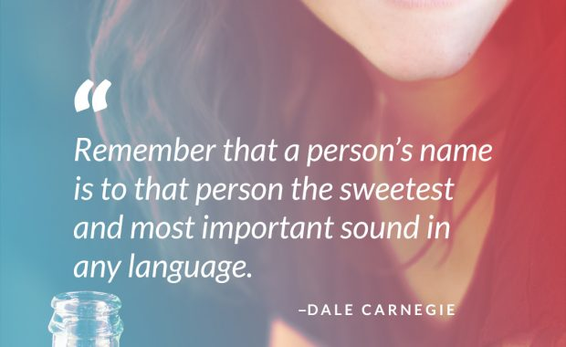 Dale Carnegie on People's Name