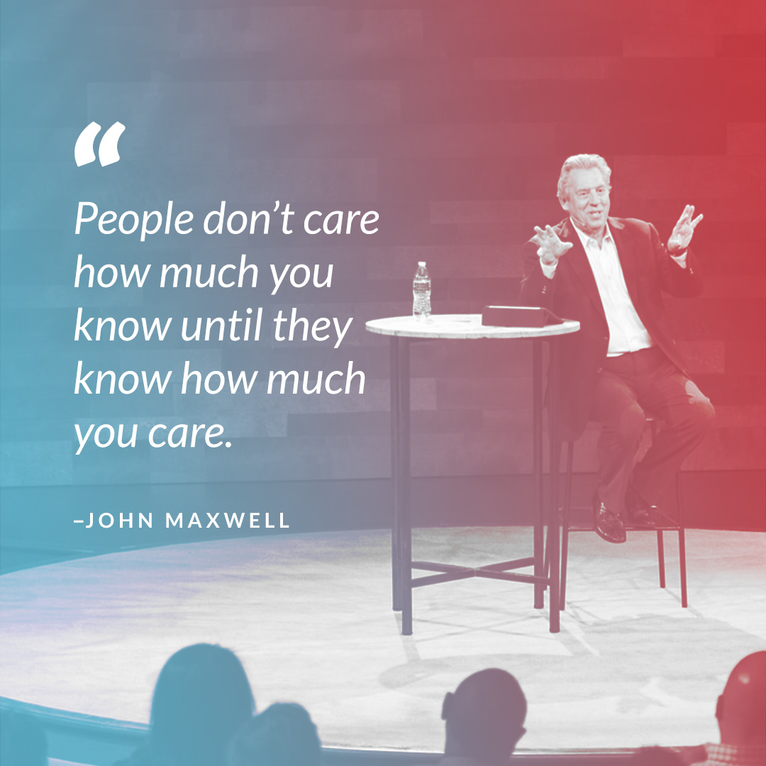 John Maxwell Care quote