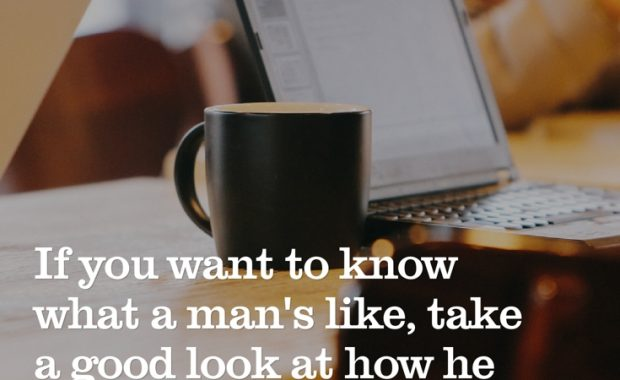 J.K. Rowling What a Man is Like Quote